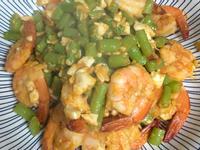 四季豆鹹蝦仁