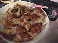 氣炸香菇 氣炸肉串金針菇