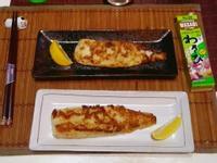 S&B山葵膏~山葵優格鯛魚排