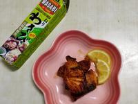蜂蜜山葵煎鮭魚