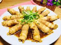 金針菇豬五花卷