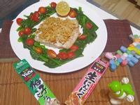 S&B柚子青辣椒醬~ 義大利式烤鱸魚