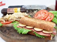 煙燻火腿法國三明治