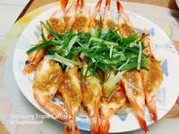 蒜泥蒸蝦粉絲煲