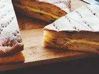「小酒館關門了」法式忌廉芝士面包