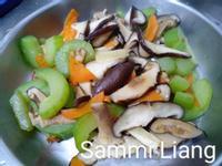 黃瓜炒雙菇