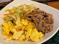 簡易炒菜鍋牛肉鐵板麵(不需換鍋的作法)