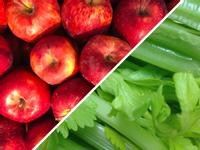 蘋果芹菜蔬果汁
