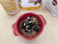 低熱量 花生巧克力蛋糕 微波爐