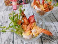 蒜香檸檬甜蝦