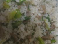 芥菜瘦肉炒飯