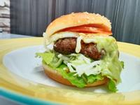 日式山葵漢堡排美式堡