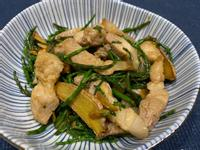 麻油五花炒海蘆筍