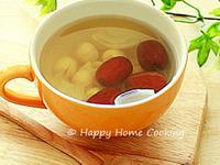 蓮子紅棗鮮百合糖水 ~ 潤燥補身!