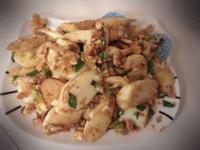鹹蛋茭白筍 金沙皎白筍
