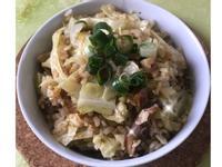 高麗菜飯(電子鍋版)