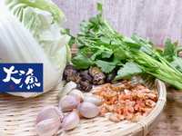 火燒蝦開陽白菜