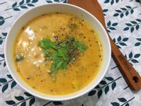 雞肉杏苞菇南瓜濃湯