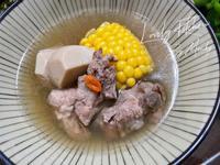 狗尾草玉米排骨湯