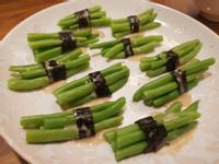 涼拌胡麻四季豆