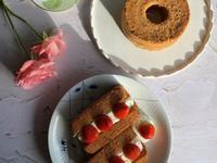 伯爵戚風蛋糕&戚風蛋糕草莓三明治