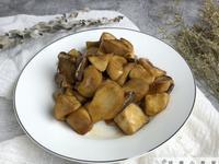醬燒杏鮑菇(干貝般的口感)