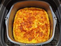 紅蘿蔔烘蛋(飛利浦 氣炸鍋)