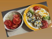 水煮蛋×海苔玉米飯糰
