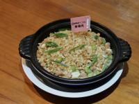 新豬肉杏鮑菇炒飯(五辛素)