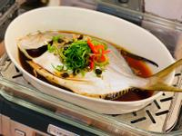 開運年菜-清蒸黃金鯧魚