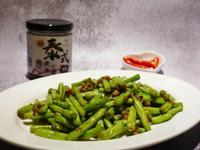 蝦醬四季豆 (快速料理)