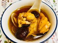老菜脯香菇燉雞湯