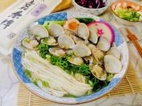 蒜香蛤蜊拉麵