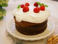 兩種材料「巧克力蛋糕」一次學會、濃郁好吃