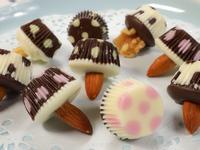 🍄小蘑菇巧克力 | 只需要3種材料完成
