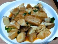 水炒杏鮑菇