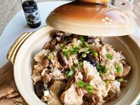 香菇麻油雞飯