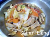 香菇燴白菜滷