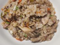 菇菇豬肉燴飯(電子鍋版)