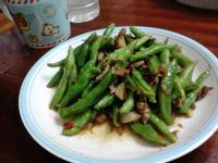 干貝醬炒四季豆
