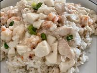(一人前)雞肉鮮蝦豆腐飯《影片篇》