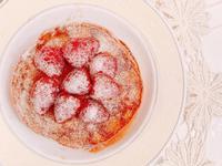 高蛋白草莓鬆餅(無糖奶蛋