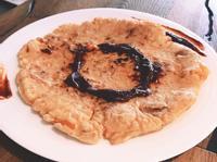 鑄鐵鍋料理-韓式泡菜鮮蝦煎餅