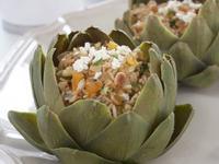 地中海風味朝鮮薊燉飯