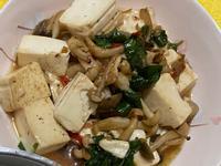 雙菇照燒豆腐
