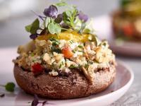 美式洋菇蟹肉飯