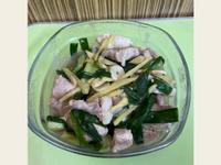 蔥薑炒豬肉