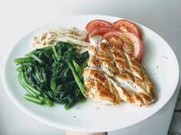 [減脂餐]S7雞胸/菠菜/金針菇/番茄