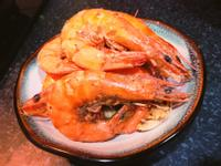 【緊張的】家常鹽焗蝦(三步驟的下酒菜)