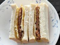 肉排三明治